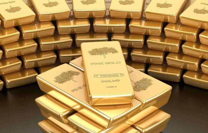 استقرار أسعار الذهب في التعاملات الفورية