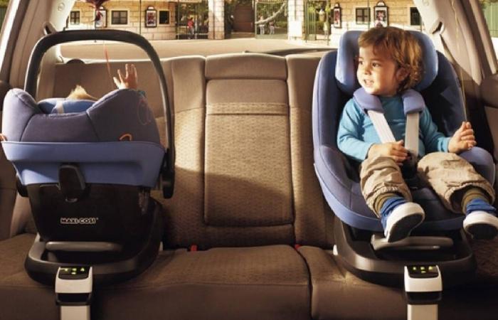 تعرف على طرق الاستخدام الصحيح لكرسي الطفل في المركبة