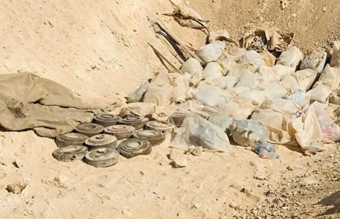 """القوات العراقية تضبط وسائل تفجير ومئات العبوات لـ""""داعش"""" غربي البلاد... صور"""