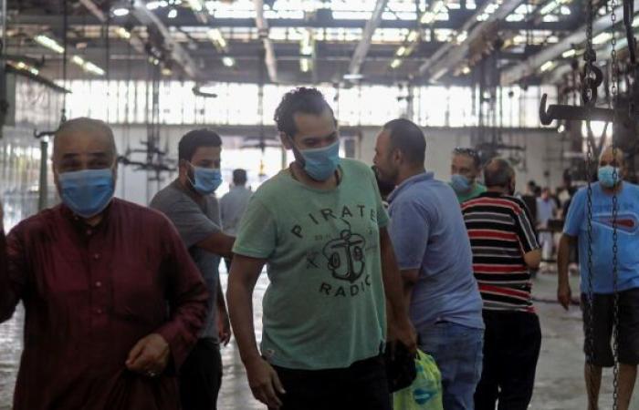 إصابات كورونا في مصر ترتفع مجددا والموجة الرابعة تطرق الأبواب
