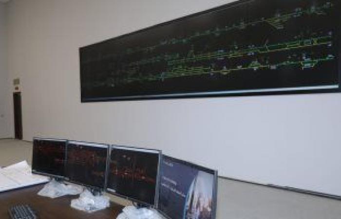 """13 معلومة عن برج التحكم المركزى بالإشارات لخط قطارات """"القاهرة - الإسكندرية"""""""