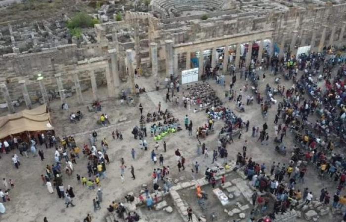 انطلاق فعاليات مهرجان مدينة شحات السياحي في ليبيا... صور