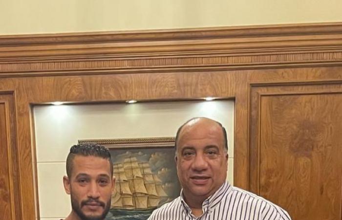 الاتحاد السكندرى يضم أحمد على من البنك الأهلى لمدة موسمين رسميا