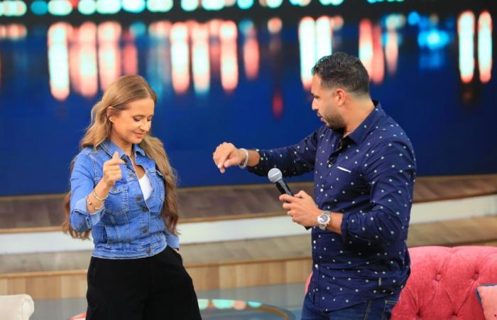مين اصطاد التانى؟.. إجابة صادمة من نيللى كريم لزوجها هشام عاشور