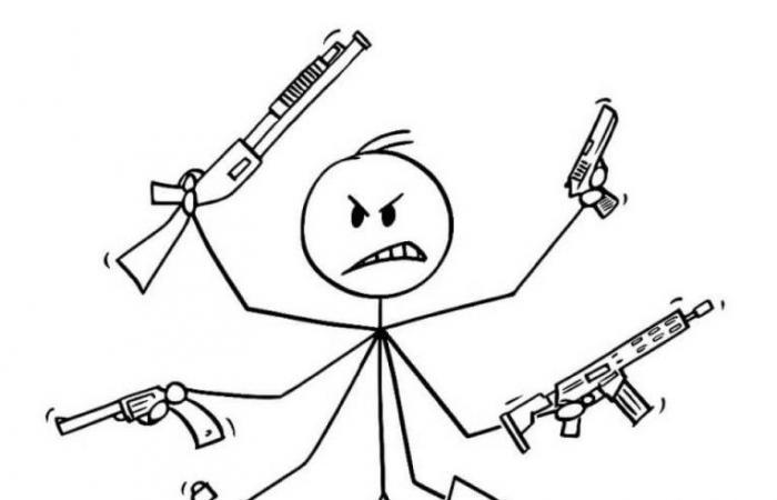 لا تطلق الرصاص على عنقك!