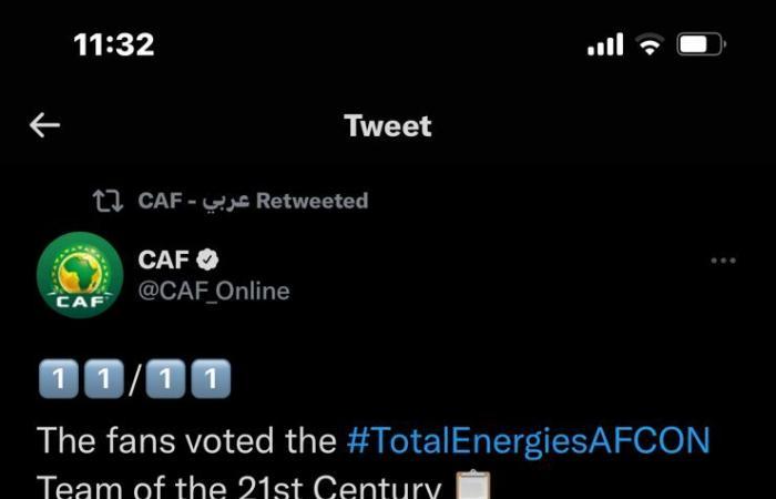 6 لاعبين مصريين فى تشكيل الأفضل بأفريقيا خلال القرن الـ21