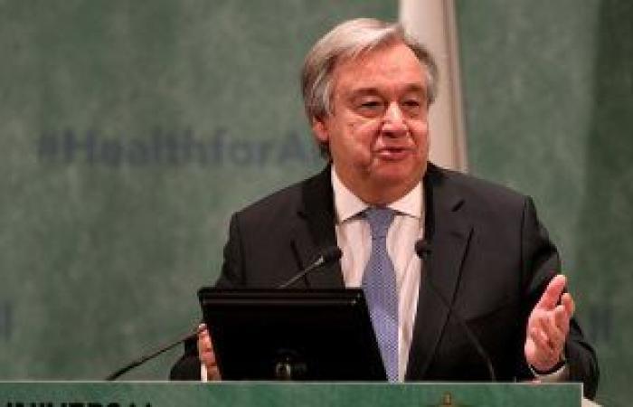 الأمين العام للأمم المتحدة يشيد بانجازات الحكومة الانتقالية فى السودان