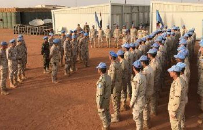 قائد قوات بعثة الأمم المتحدة فى مالى يشيد بعناصر القوة المصرية لحفظ السلام
