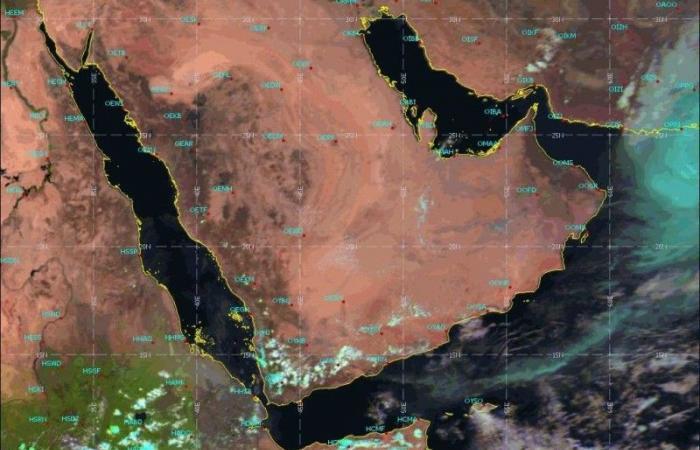 «الأرصاد»: لا تأثير مباشراً للعاصفة المدارية «شاهين» على أجواء السعودية