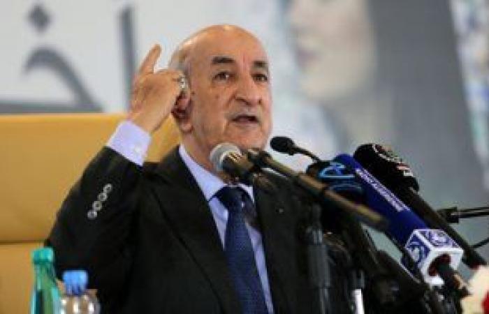 رئيس الجزائر يبحث مع وزير خارجية إسبانيا تعزيز التعاون الثنائى ودعم الشراكة الاقتصادية