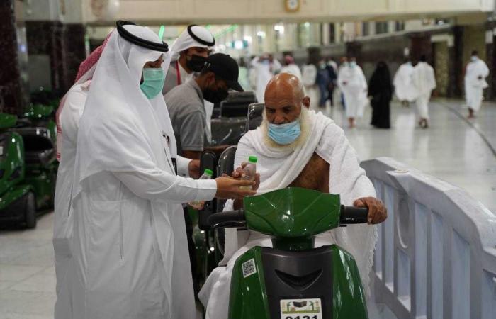 مبادرة في المسجد الحرام لتقديم أرقى الخدمات لكبار السن