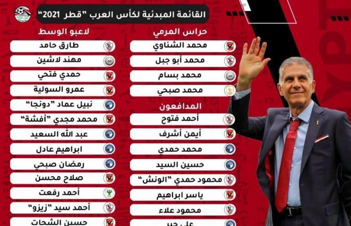 أحمد حجازي في قائمة مصر المبدئية لـ بطولة كأس العرب