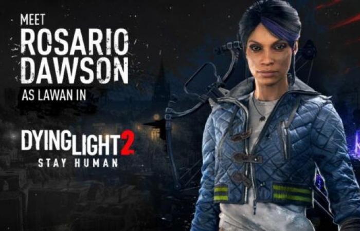 الممثلة Rosario Dawson تنضم إلى طاقم لعبة Dying Light 2