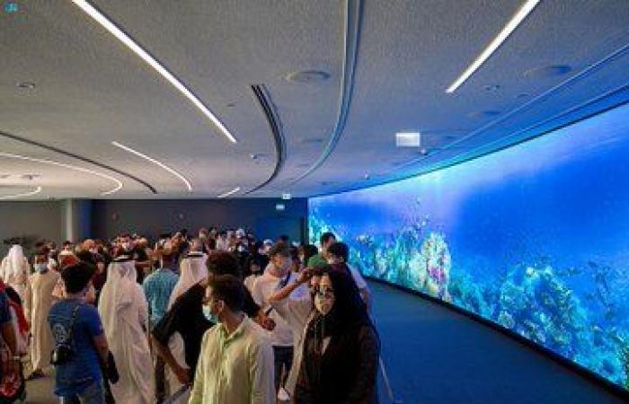 إقبال كبير على جناح المملكة في إكسبو 2020 دبي