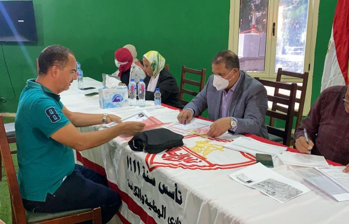 أحمد عفيفى مصطفى يقدم أوراق ترشحه على منصب عضوية الزمالك
