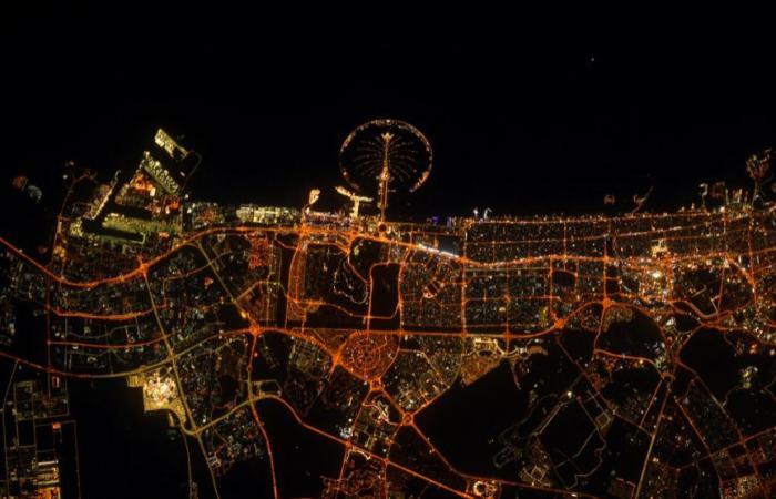 تزامنا مع اكسبو 2020.. رائد فضاء فرنسى يلتقط صورا مذهلة لـ دبى من المحطة الدولية