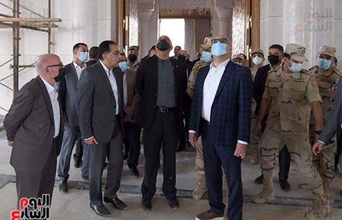 رئيسا وزراء مصر والأردن يستعرضان المشروعات الجاري تنفيذها بالعاصمة الإدارية.. صور