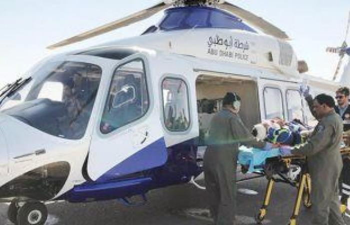 شرطة أبوظبي تعلن عن مقتل 4 أشخاص في سقوط طائرة إسعاف