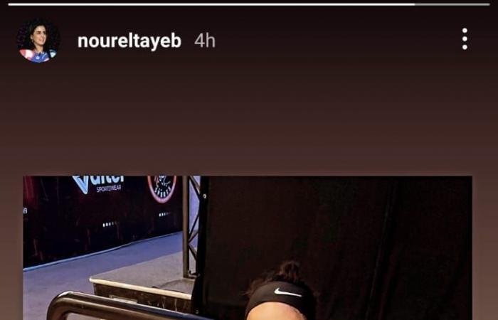 نور الطيب تعود لملعب الإسكواش بعد 10 أشهر من إعلان الاعتزال