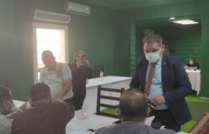 ماجد فاروق الحنبلى يقدم أوراق ترشحه لمنصب نائب رئيس الزمالك