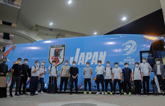 منتخب اليابان يصل إلى جدة لمواجهة الأخضر في تصفيات كأس العالم