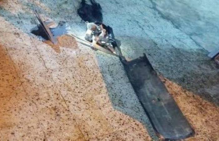 سقوط شظايا مفخخة حوثية في «المسارحة».. ولا وفيات