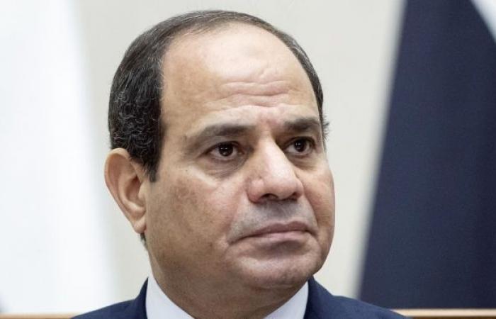 """السيسي: مصر تقترب من مرحلة """"خط الفقر المائي"""""""