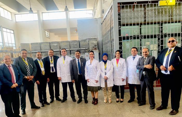 غادة على نائبة التنسيقية : درسنا وضع هيئة الطاقة الذرية ميدانيا خلال زيارة رسمية