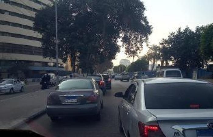 سيولة بحركة السيارات بشارع جامعة الدول والمناطق المحيطة.. فيديو