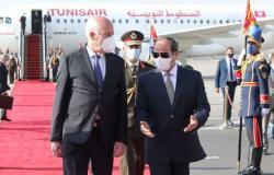 ماذا في زيارة الرئيس التونسي قيس سعيد إلى مصر؟