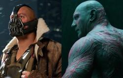 ديف باتيستا يَرغب بشدة في لعب دور Bane في عالم DC السينمائي