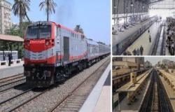"""""""السكة الحديد"""" تدفع بـ8 قطارات إضافية للجمهور فى العيد.. اعرف المواعيد"""