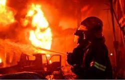 إخماد حريق شب داخل مول فى مدينة 6 أكتوبر