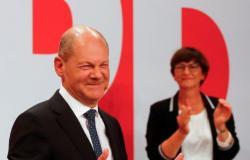 فوز الاشتراكيين الديمقراطيين في الانتخابات التشريعيّة بألمانيا بنسبة 25.7 % من الأصوات